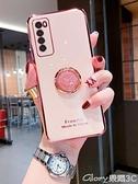 華為手機殼 華為nova7手機殼創意時鐘指環支架nova7se全包攝像頭保護【99免運】