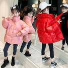 兒童棉服女 女童冬裝羽絨服2021新款兒童網紅加厚白鴨絨女孩春洋氣羽絨【快速出貨八折下殺】