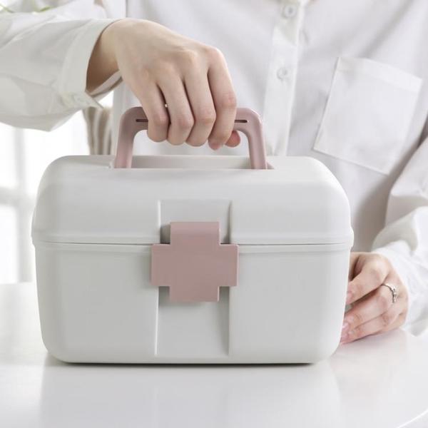 baby藥箱小號便攜學生宿舍迷你小型可愛寶寶藥箱收納嬰兒家用旅行魔方數碼