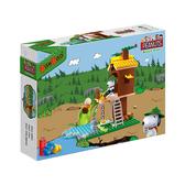 《 BanBao 邦寶積木 》Snoopy 史努比系列 - 樹屋遊戲 / JOYBUS玩具百貨