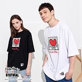 STAYREAL x Keith Haring 擁抱愛心T