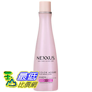 [104 美國直購] Nexxus New York Salon Care Shampoo, Color Assure, 13.5 Ounce Bottle NCAS13