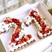 數字蛋糕模具4寸6寸10寸大號網紅生日烘焙模具字母視頻教學 貝芙莉女鞋