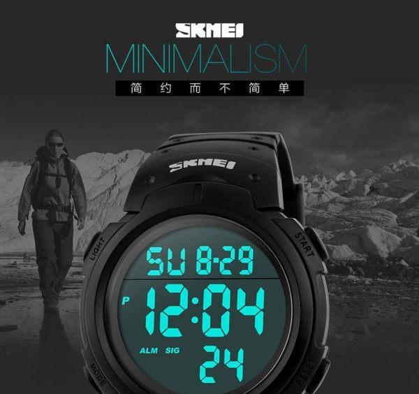 電子錶 戶外運動跑步手錶多功能個性韓國潮流EA20002-現貨