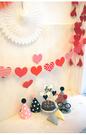 [韓風童品] 愛心掛飾  情人節掛飾   求婚現場佈置掛飾   拍攝背景裝飾 櫥窗裝飾佈置