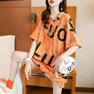 長款T恤 休閑連帽短袖T恤女網紅ins超火夏季2021新款韓版寬松慵懶風上衣潮