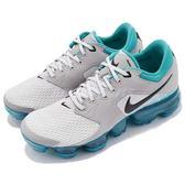 【六折特賣】Nike Air Vapormax GS 灰 藍 大氣墊 舒適緩震 運動鞋 女鞋 大童鞋【PUMP306】917963-011