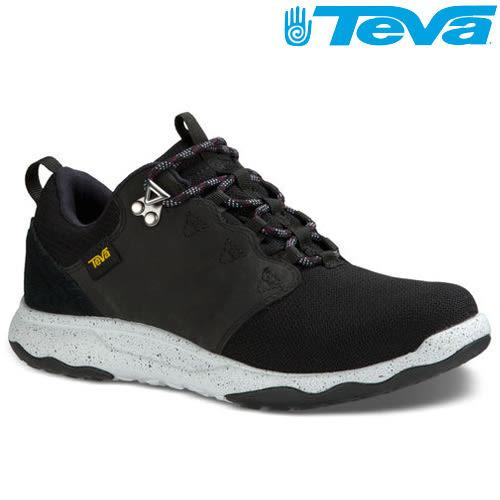 TEVA 《女款》超輕量科技大底低筒防水健走登山鞋 ARROWOOD WP - 黑