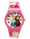【卡漫城】 冰雪奇緣 卡通錶 L 粉 ㊣版 Frozen 艾莎 安娜 公主 手錶 兒童錶 女錶 膠錶 Elsa Anna