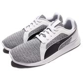 Puma 慢跑鞋 ST Trainer Evo Knit 黑 灰 白底 基本款 運動鞋 男鞋 女鞋【PUMP306】 36239502