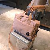 限定款旅行袋-旅行包女手提包小行李包正韓簡約輕便短途小清新套拉桿出差旅行袋