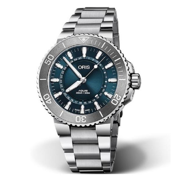 【ORIS 豪利時】生命之源限量錶鋼款(0173377304125-SetMB)