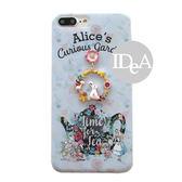 迪士尼 Apple iPhone7 8Plus 愛麗絲手機殼 軟殼 笑笑貓 妙妙貓  愛麗絲夢遊仙鏡 白兔先生 紅心皇后