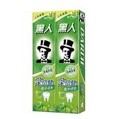 黑人牙膏-茶倍健160g X2入【愛買】