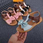 女童涼鞋2018新款公主鞋正韓時尚寶寶鞋軟底沙灘鞋中大童兒童涼鞋 全館八折免運嚴選