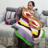 毛線機器 新品織毛衣沙發墊毛線毯子零基礎手工編織器工具送織布機教程-三山一舍JY