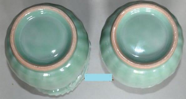 [協貿國際]  青瓷成對龍虎瓶居家擺設裝飾收藏品  (1對入)