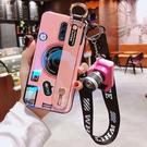 oppo reno手機殼女藍光相機腕帶女矽膠軟殼10倍變焦版掛繩r17pro防摔opporeno 店慶降價