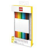 樂高 LEGO積木原子筆-混色(9入)