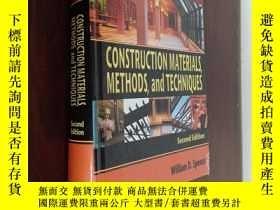 二手書博民逛書店construction罕見materials methods and techniques 建築材料方法和技術奇