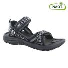 NAOT 男 越野運動涼鞋 HARBOR 38505X14【黑白】/ 城市綠洲 (織帶、輕量、快乾、抑菌)