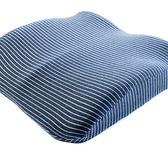 純棉舒壓厚坐墊-藍