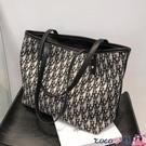 熱賣托特包 大容量包包女2021新款潮高級感時尚百搭側背包2021質感通勤托特包 coco