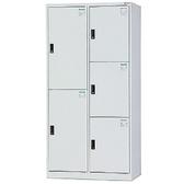 【時尚屋】DJ多用鋼製辦公置物櫃(18-1)藍色