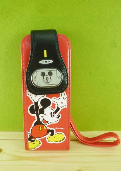 【震撼精品百貨】Micky Mouse_米奇/米妮 ~手機袋-紅米奇