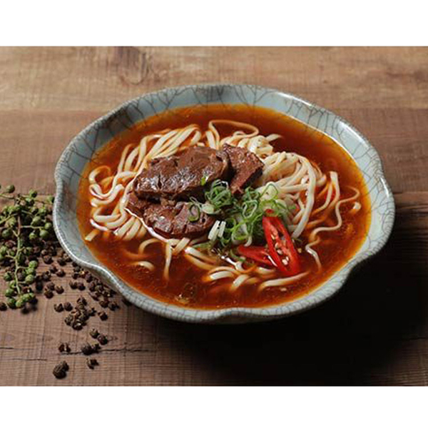【KiKi食品雜貨】川味椒麻牛肉麵 (牛肉調理包450g+麵條80g)