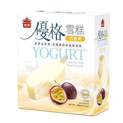 《免運冷凍宅配》義美優格雪糕-藍莓65g(4支/盒)*6盒