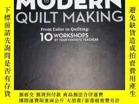 二手書博民逛書店Essential罕見Guide to Modern Quilt