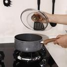 不粘鍋麥飯石奶鍋平底多功能奶鍋家用燃氣電磁爐【618店長推薦】
