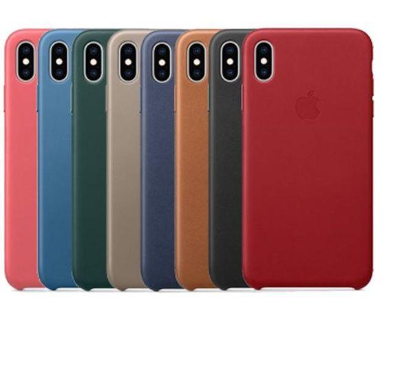 [JS數位]Apple 蘋果 原廠 iPhone X / XS 皮質 保護殼 護套
