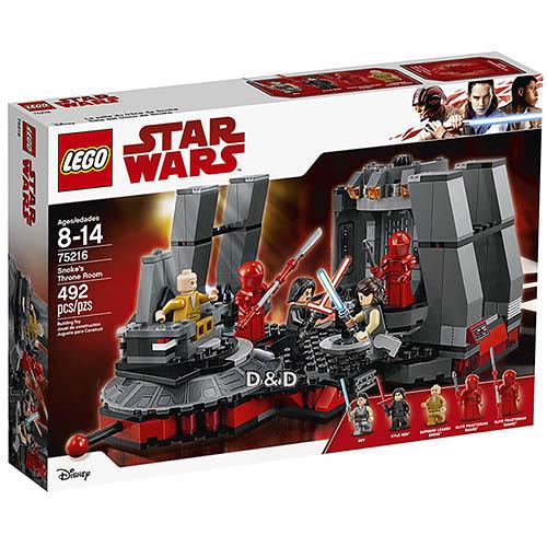 樂高積木 LEGO 2018《 LT75216 》STAR WARS 星際大戰系列 - Snoke's Throne Room╭★ JOYBUS玩具百貨