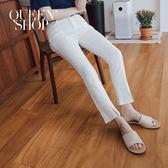 Queen Shop【04101349】微喇叭設計修身長褲 兩色售 S/M/L*現+預*