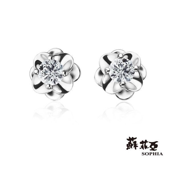 蘇菲亞SOPHIA - 唯美系列 0.20克拉鑽石耳環