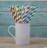 一次性彩色創意情人節紙吸管派對甜品臺果汁裝飾新款