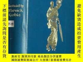 二手書博民逛書店1910年出版《綠柳與其它童話》著名插畫家Warick罕見Gob