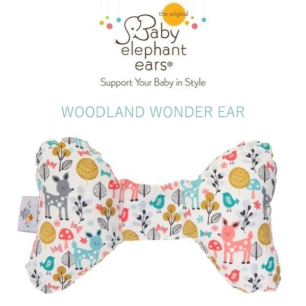 【愛吾兒】Baby Elephant Ear寶寶護頸枕 (Woodland Wonder Ear)【提供脊柱/頸部調整與舒適性】