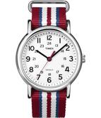 TIMEX 天美時 (TXT2N746) 帆布 冷光 手錶/37mm
