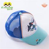 伊米倫 寶寶鴨舌帽夏季嬰兒網帽透氣 韓版兒童棒球帽防曬遮陽帽男