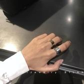 戒指 比蘭迪3件套裝金屬個性嘻哈潮人寬面戒指冷淡風關節指環男女688R8 星河光年