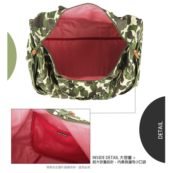《熊熊先生》加拿大時尚品牌 Herschel出國旅行袋 撞色/迷彩萬用包 10026 輕量側背包 附有可拆式背帶