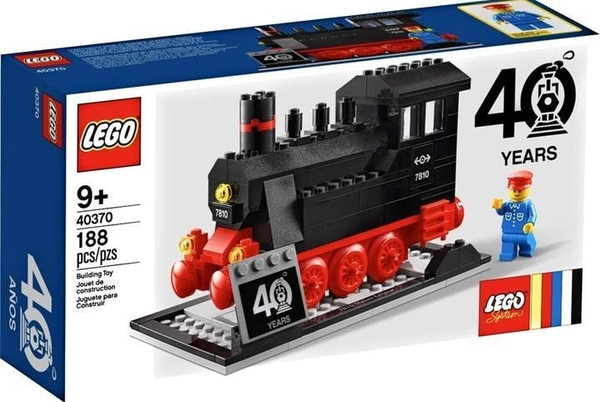 LEGO 40370 Steam Engine 40 Years Exclusive(188個)