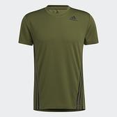 ADIDAS AEROREADY 3-STRIPES 男裝 短袖 慢跑 訓練 吸濕 排汗 合身 綠【運動世界】GM0660