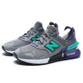 NEW BALANCE NB997 ABZORB底 灰 麂皮 網布 紫綠 情侶鞋 慢跑 男女 (布魯克林) MS997JKC