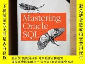 二手書博民逛書店MASTERING罕見ORACLE SQL (COVERS OR
