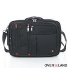 OVERLAND - 美式十字軍 - 商務型筆電3WAYS多功能後背包 - 5082