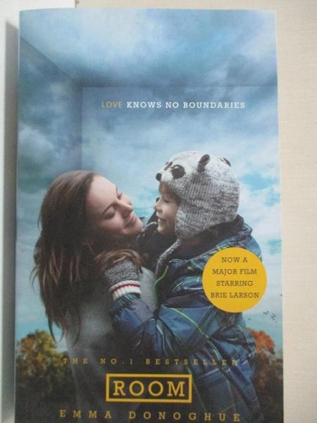 【書寶二手書T6/原文小說_BUI】Room: Film Tie-in_Emma Donoghue